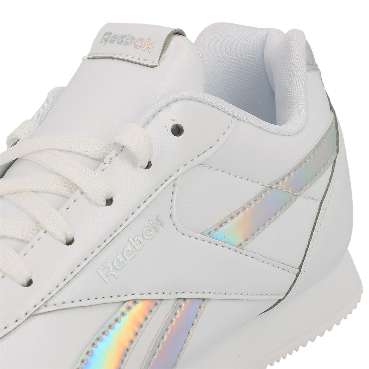 Schuhe-Niedrig-Leder-oder-Faux-Reebok-Royal-Cljog-White-Maedchen-Weiss-18852-Neu Indexbild 2
