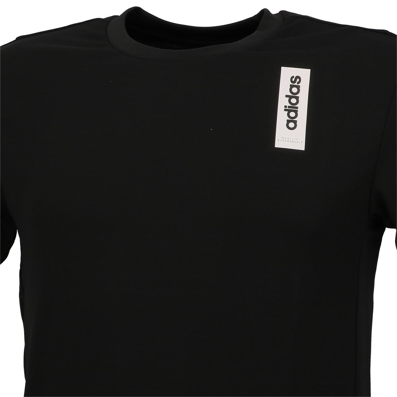 Short-Sleeve-T-Shirt-Adidas-BB-Black-Mc-Tee-Black-18895-New thumbnail 2