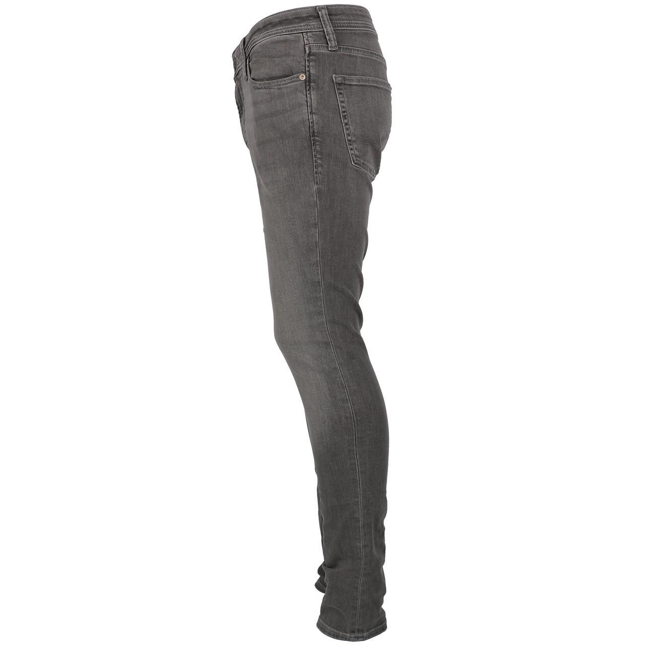 Jeans-Pants-Jack-and-Jones-Liam-32-Grey-Denim-Jeans-Grey-19911-New thumbnail 2