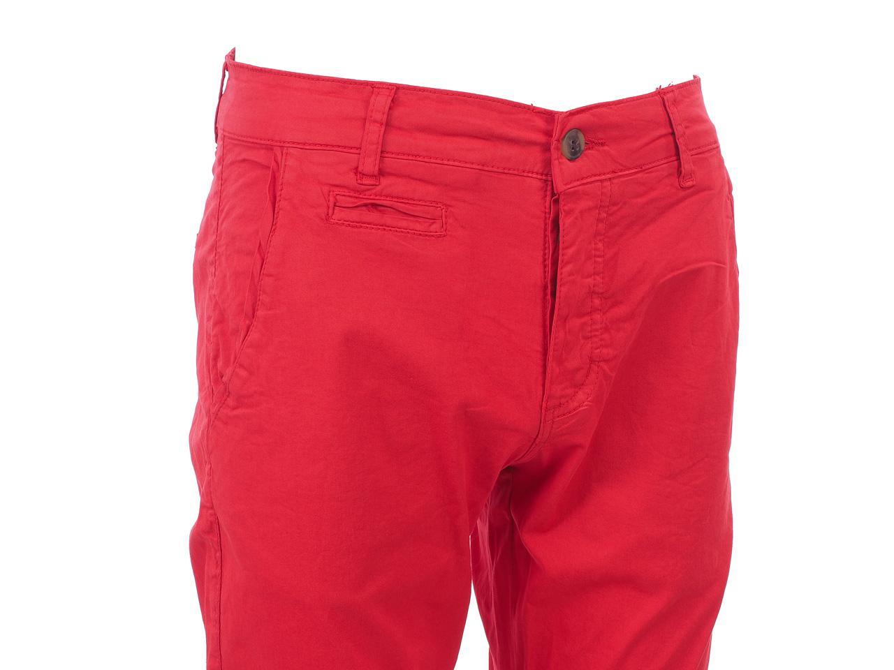 Hose-Biaggio-Tarel-Rot-Hose-Chino-Rot-22256-Neu Indexbild 2