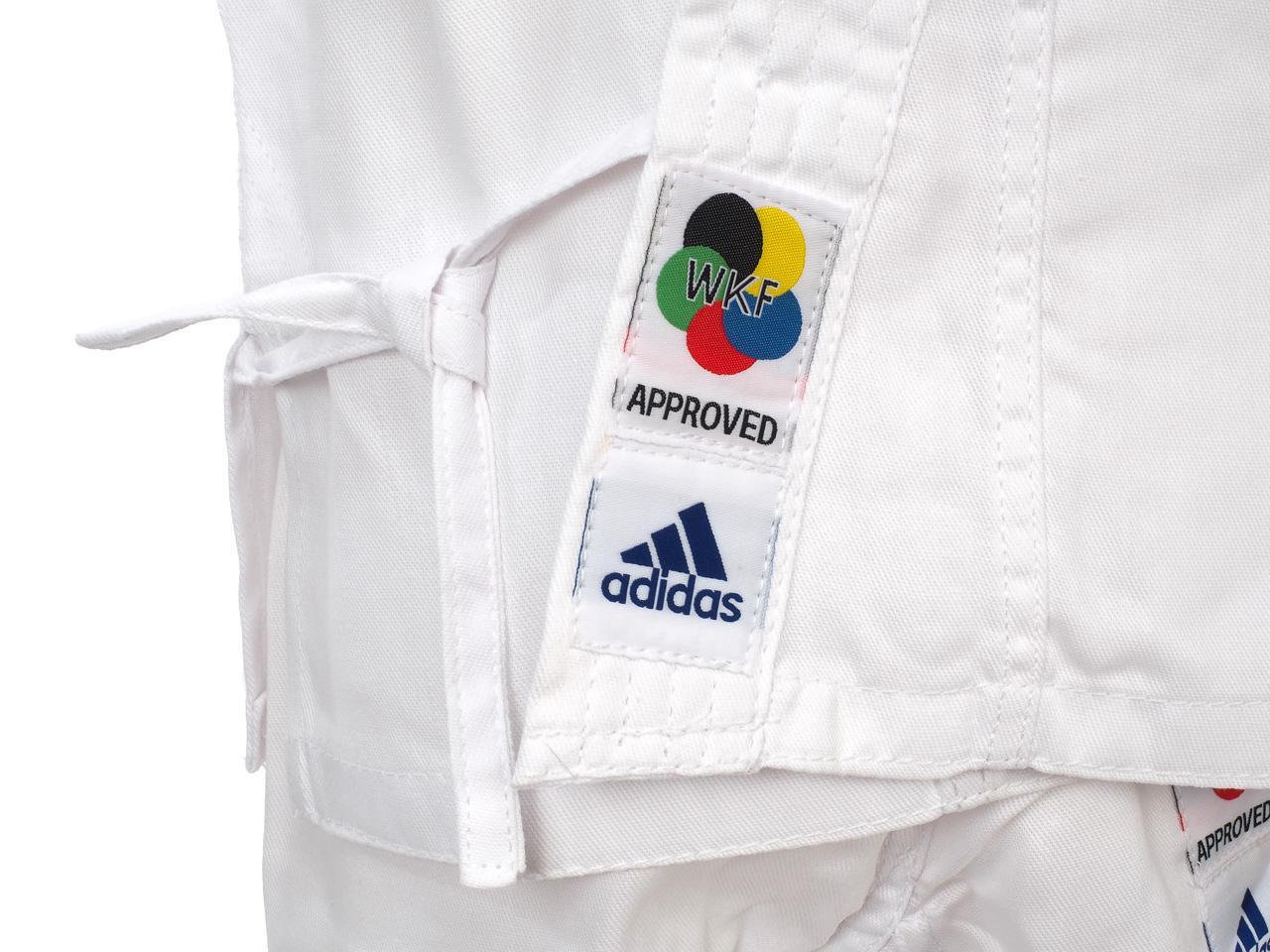 Kimono-of-Karate-Adidas-Evolution-White-Karate-Jr-White-23064-New thumbnail 2