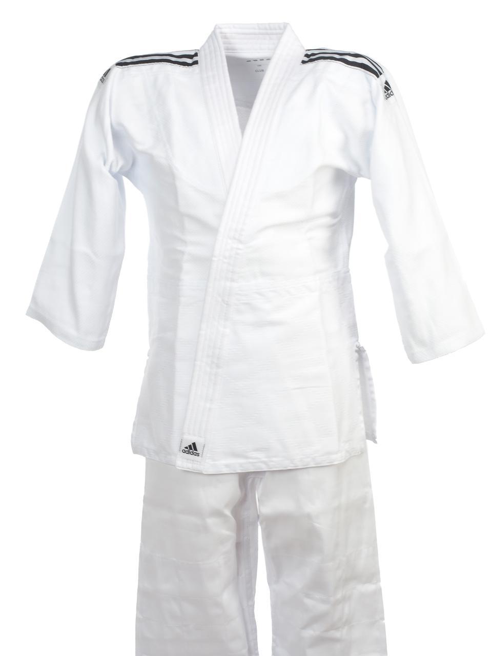Judo-Kimono-Adidas-Club-White-Judo-Jr-White-23071-New