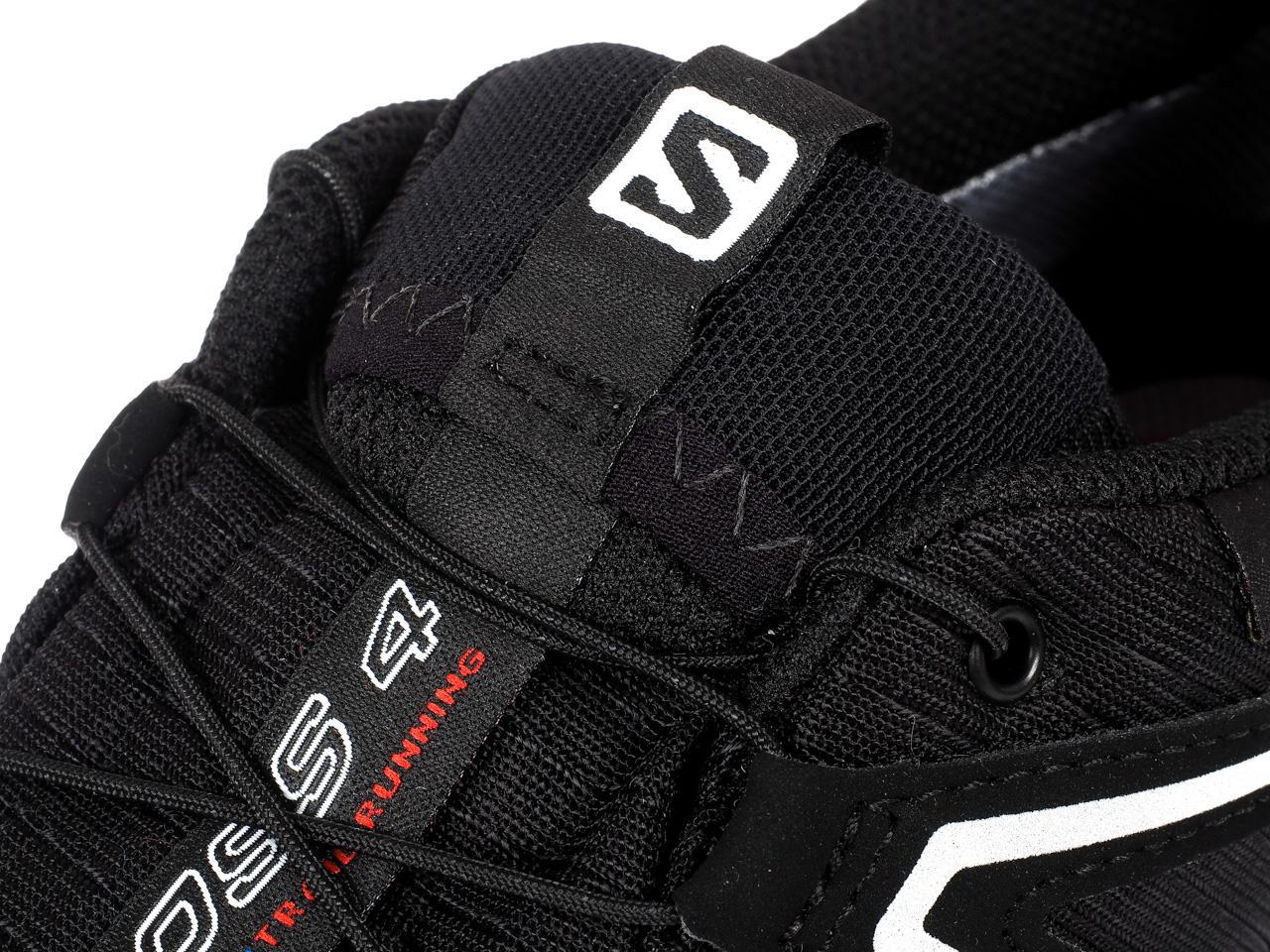Zapatos-Running-Rastro-Salomon-Speed-Cross-4-GTX-Nr-Run-Negro-24186-Nuevo miniatura 2
