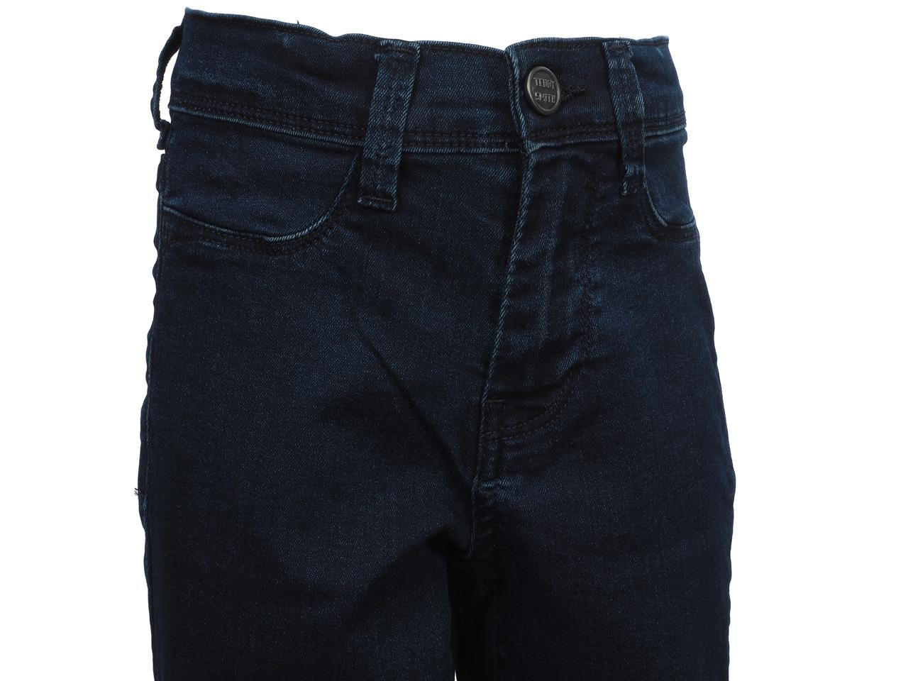 Pantalon-jeans-Teddy-smith-The-jeg-navy-jeans-girl-Bleu-24306-Neuf miniature 2
