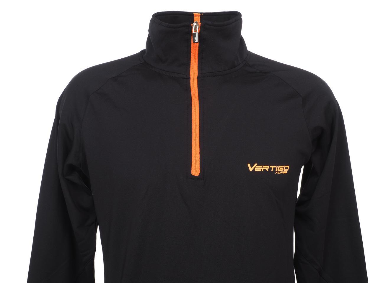 Under-Clothing-Thermal-Hot-Alpes-Vertigo-Manu-Blk-1-2z-ML-Tee-Poly-Black-251 thumbnail 2
