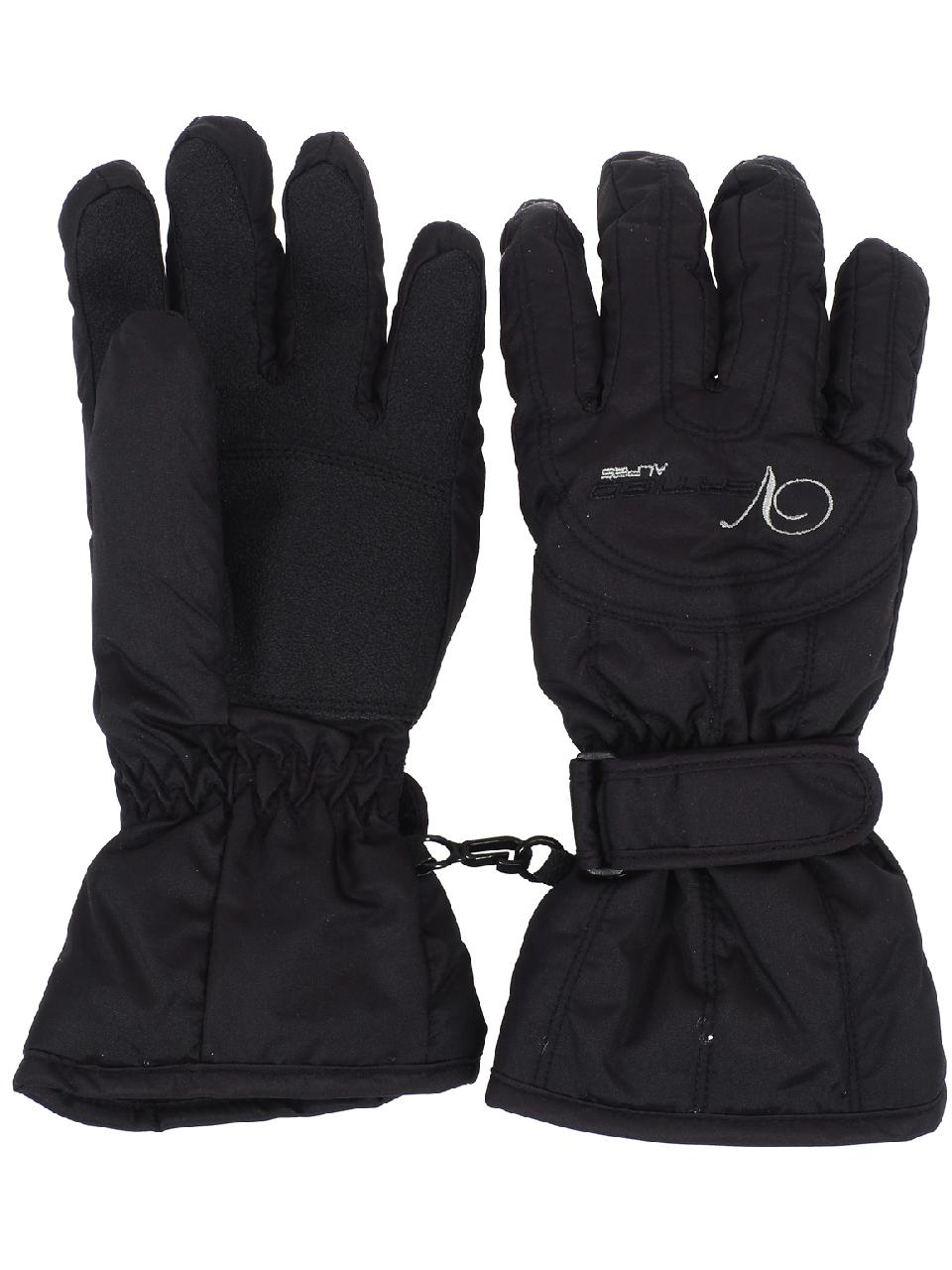 Ski-Gloves-Alpes-Vertigo-Annick-Black-Gloves-Ski-L-Black-25427-New thumbnail 2