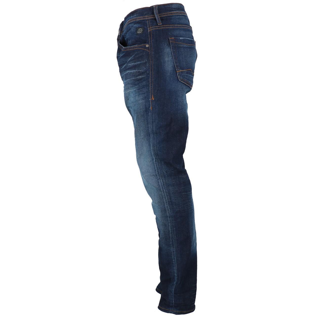Jeans-Pants-Slim-Blend-Twister-34-Denim-Dark-Reg-Blue-25943-New thumbnail 2