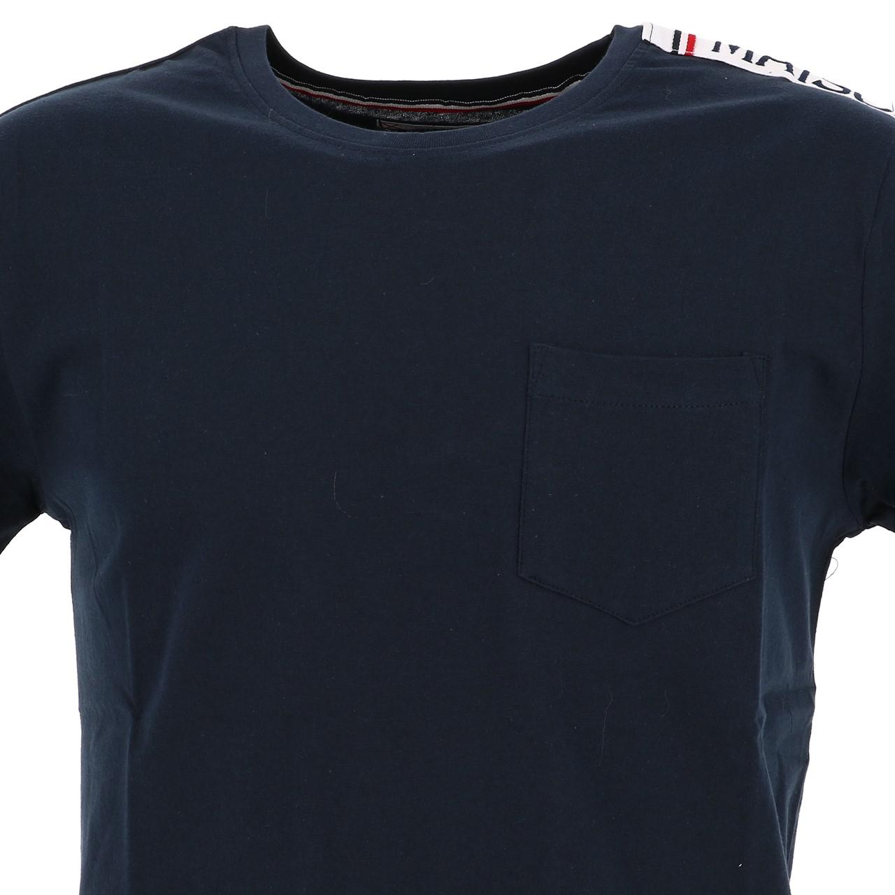 Short-Sleeve-T-Shirt-La-Maison-Blaggio-Metili-Navy-Mc-Tee-Blue-27343-New thumbnail 2
