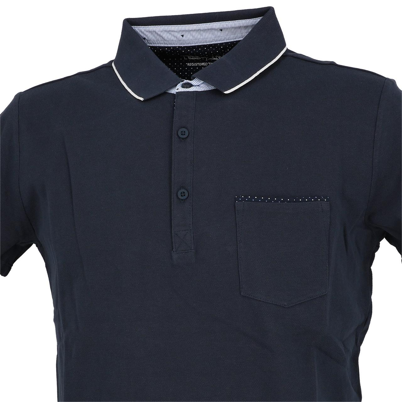 Short-Sleeve-Polo-Teddy-smith-Liam-Navy-Mc-Polo-Blue-29879-New thumbnail 2