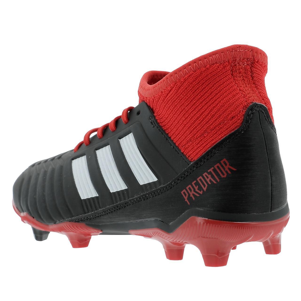 Football-Shoes-Flap-Adidas-Predator-18-3-Fg-Jr-Black-36196-New