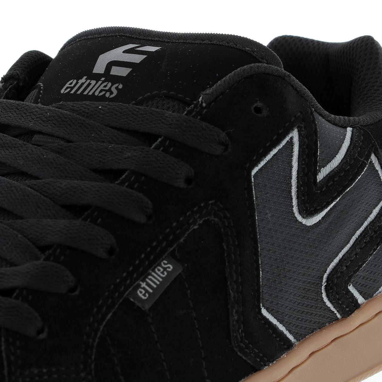 Shoes-Skateboard-Etnies-Fader-Black-Grey-Gum-Black-39127-New thumbnail 2