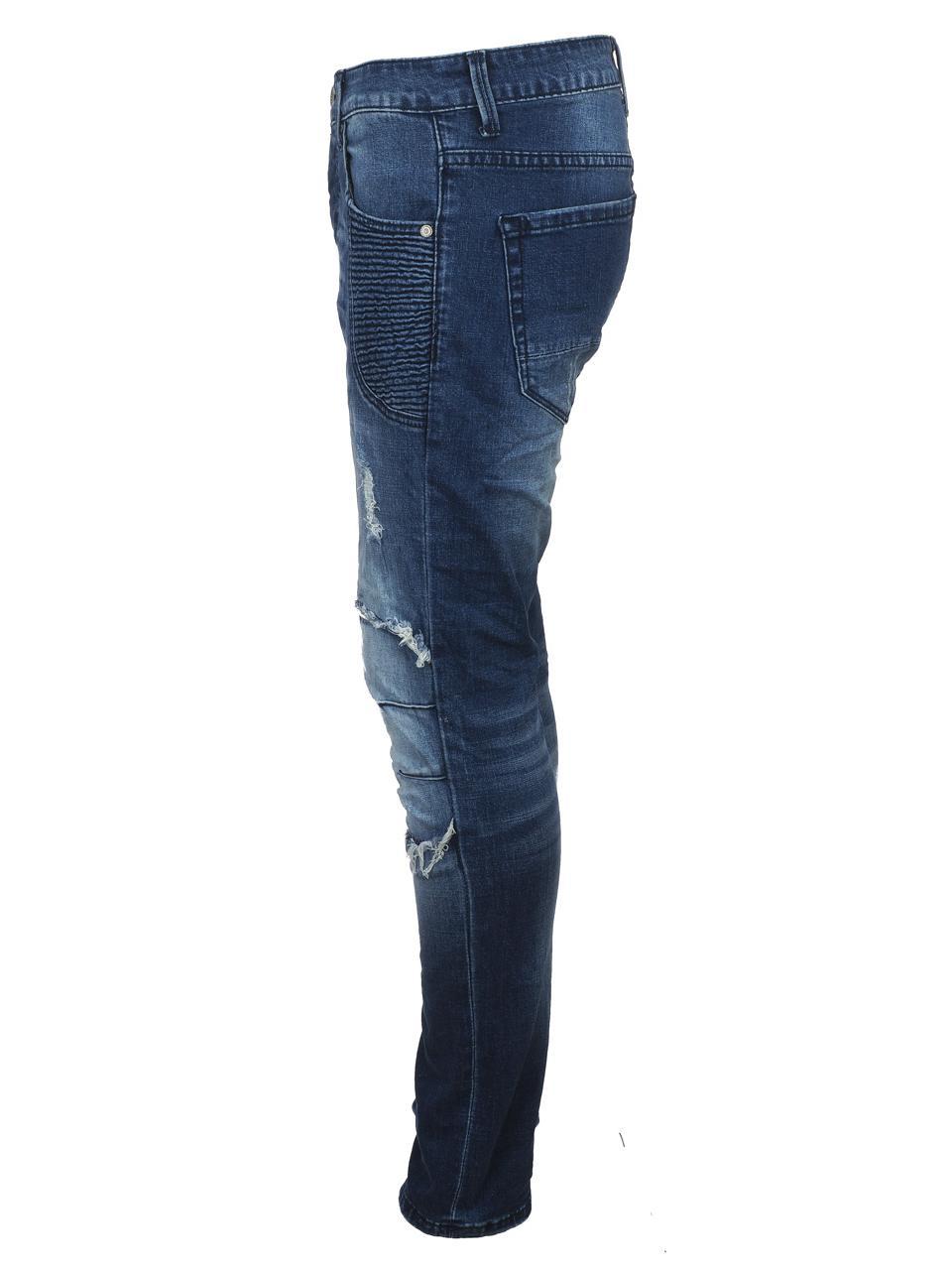 Jeans-Pants-Senders-Angeles-Used-Blue-H-Blue-39982-New thumbnail 2