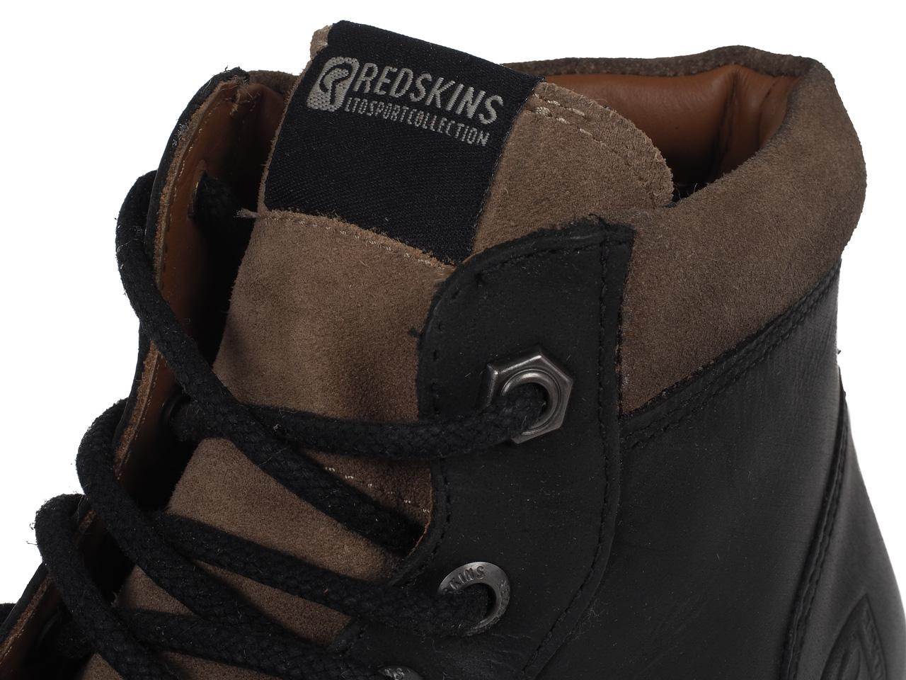 Schuhe-Mode-Stadt-Redskins-Babylon-Schwarz-Taupe-Schwarz-41250-Neu Indexbild 2