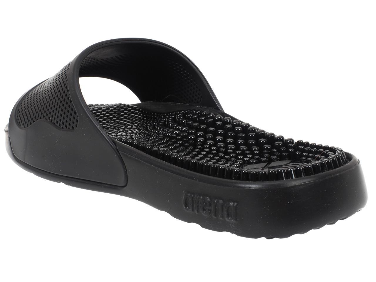 Claquettes-mules-Arena-Marco-x-grip-black-Noir-41316-Neuf miniature 2