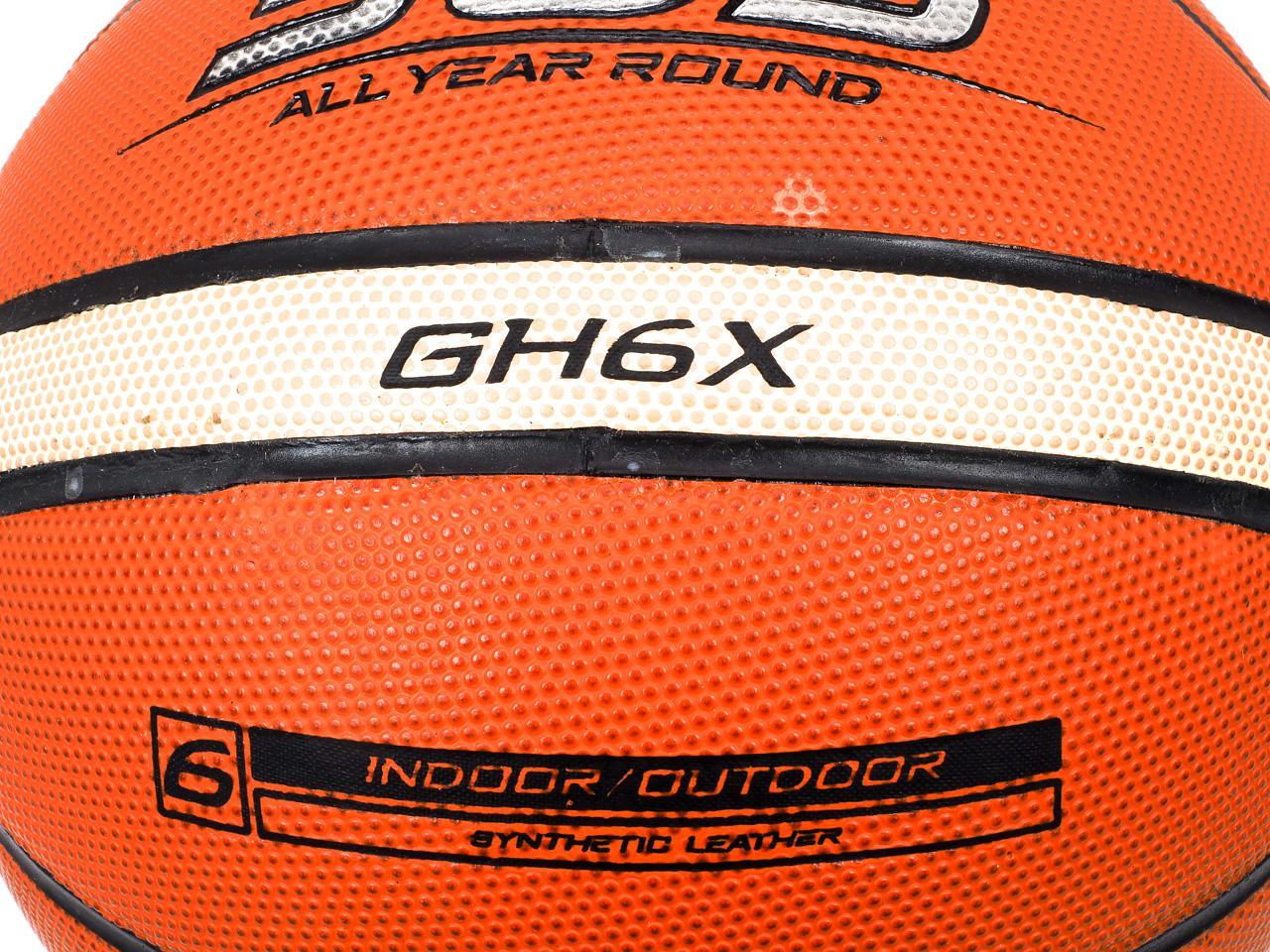 Ball-Of-Basketball-Molten-Gh6x-Training-Indoor-Orange-41622-New thumbnail 2