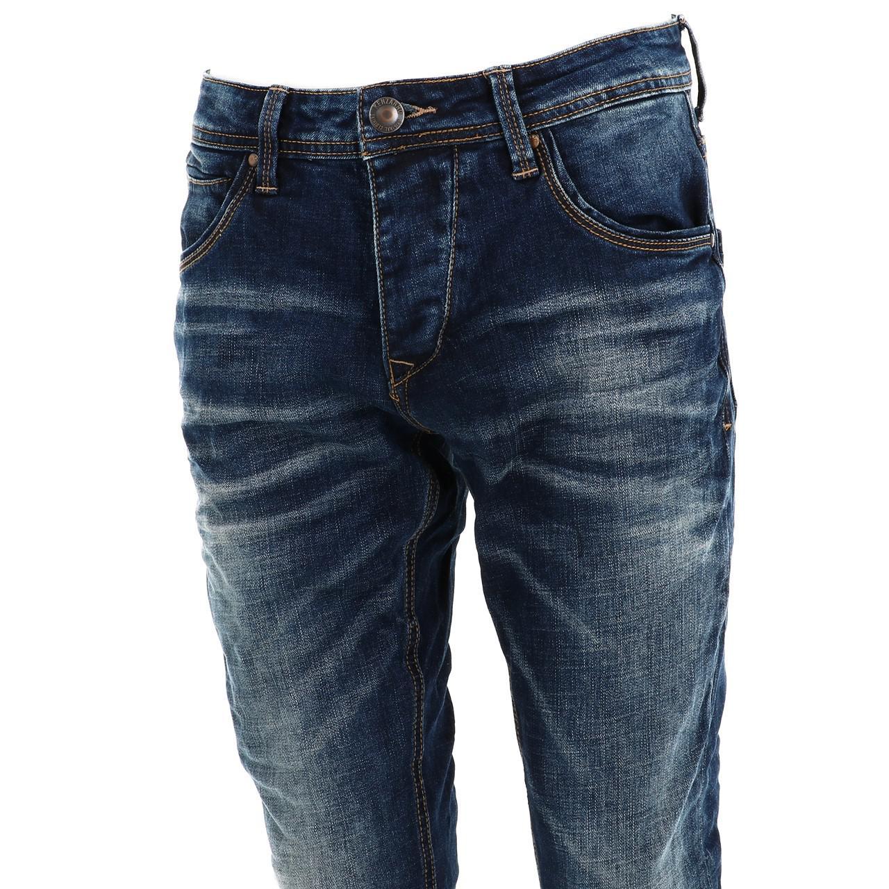 Jeans-Pants-Senders-Bullon-Used-Blue-Blue-41918-New thumbnail 2