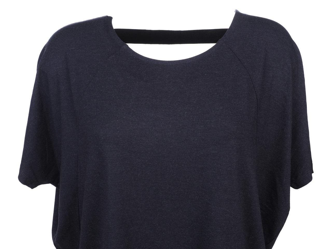 Tee-shirt-manches-courtes-Only-Moster-strap-nv-mc-tee-l-Bleu-43825-Neuf miniature 2