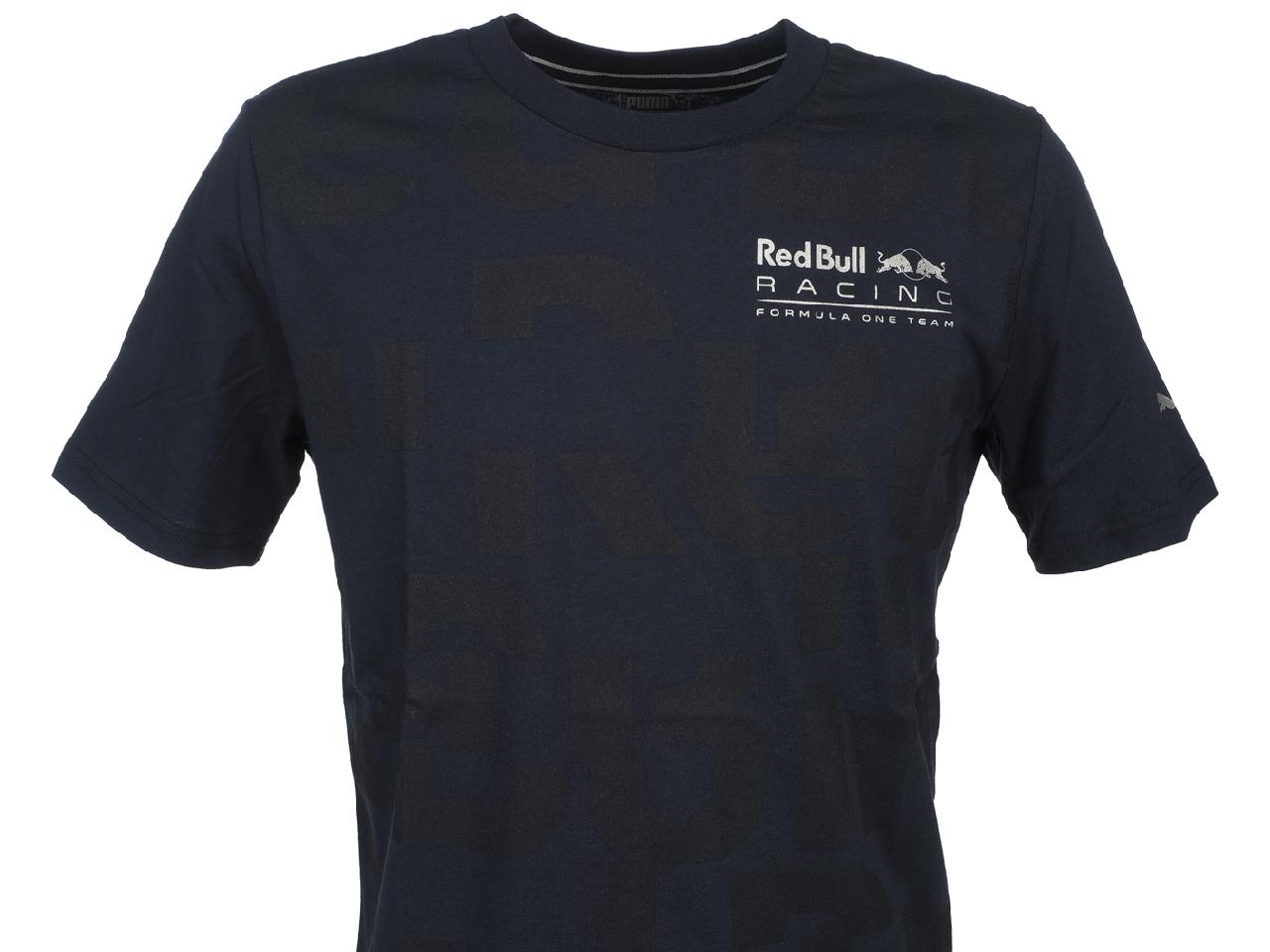 Short-Sleeve-T-Shirt-Puma-Rbr-Race-Navy-Mc-Tee-Blue-44570-New thumbnail 2