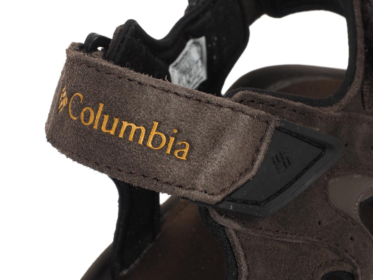 Sandals-Columbia-Santiam-3-Strap-Brown-44903-New thumbnail 1