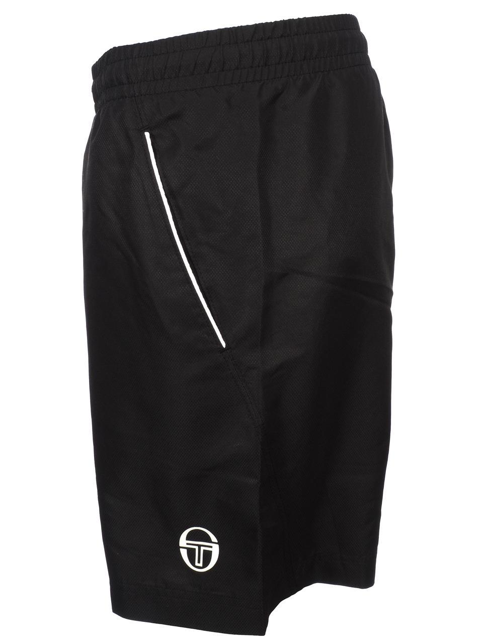 Bermuda-Shorts-Sergio-Tacchini-Rob-017-Black-Black-Shorts-45018-New thumbnail 2