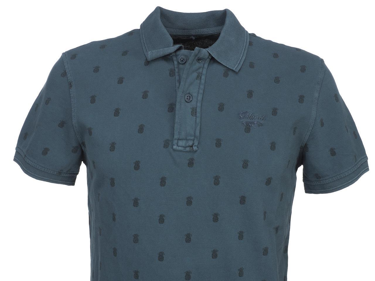 Short-Sleeve-Polo-Blend-Milan-Denim-Blue-Mc-Polo-Blue-45442-New thumbnail 2