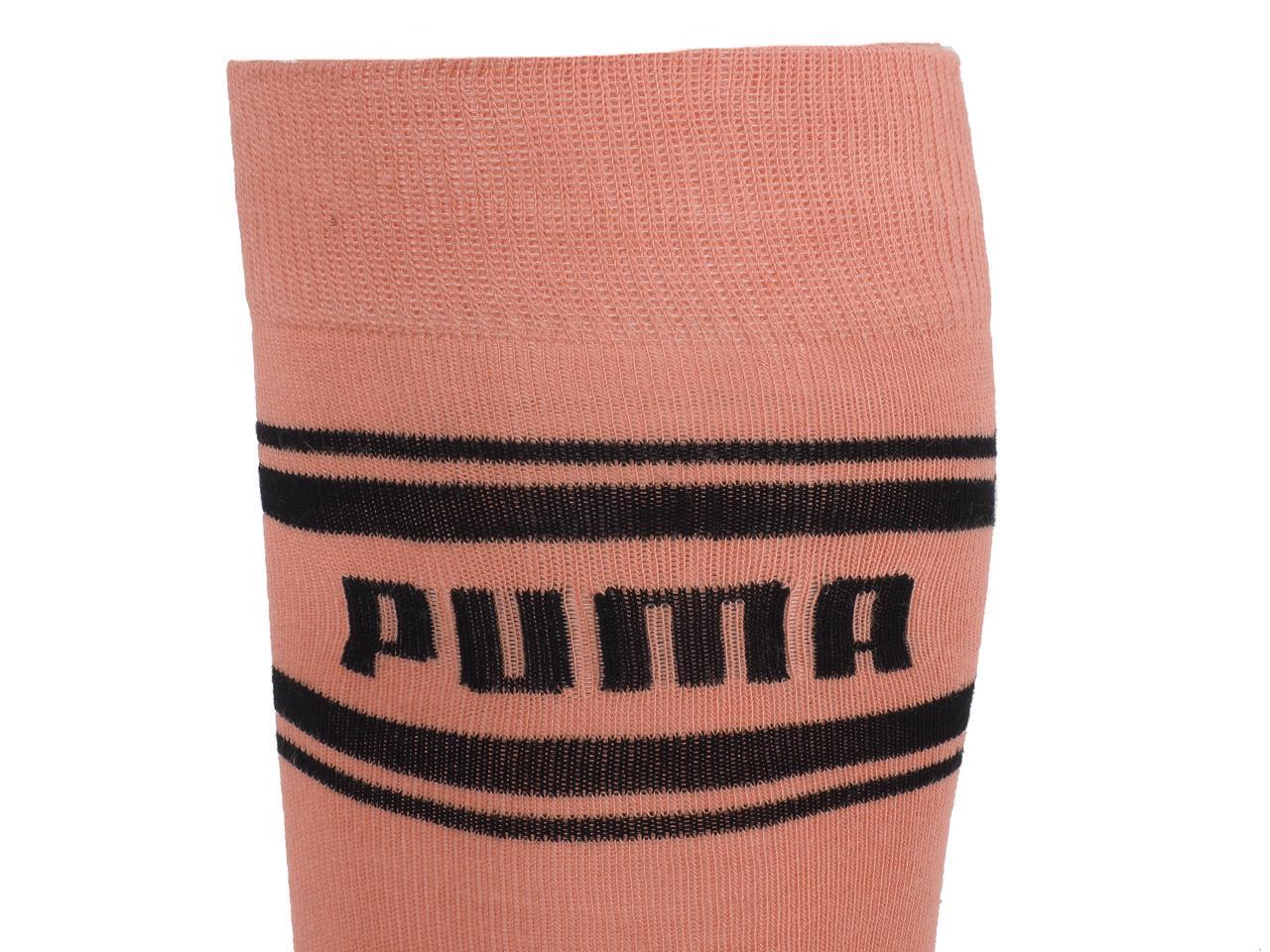 Chaussettes-Puma-Seasonnal-kneehigh-peach-Rose-46333-Neuf