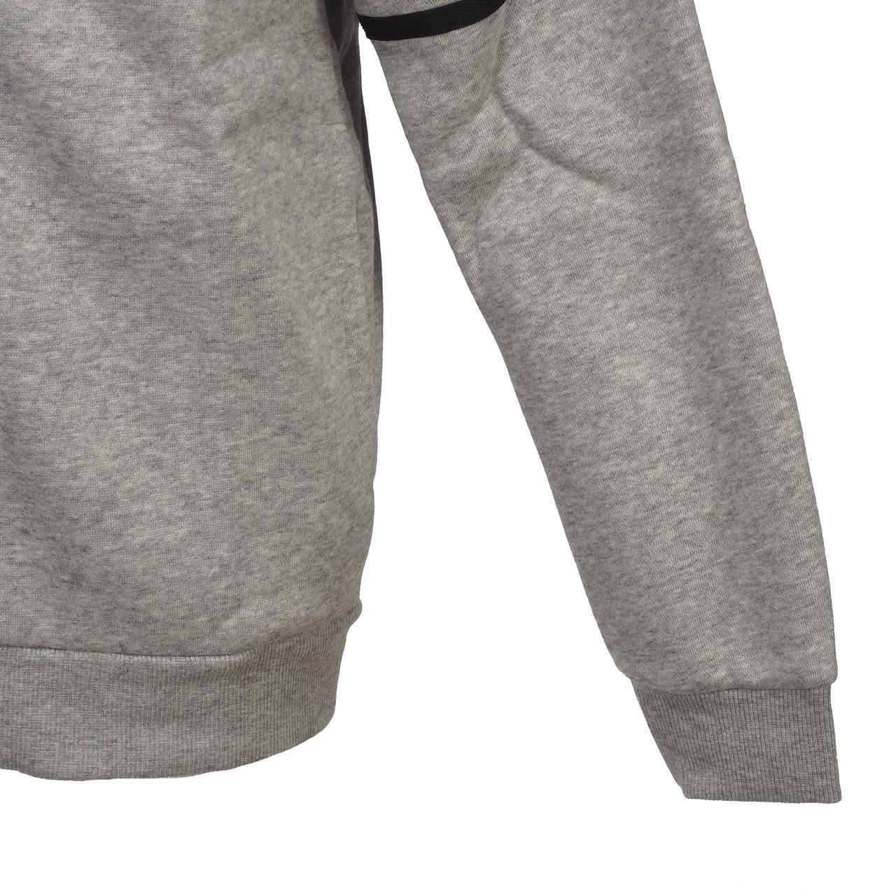 Jacken-Sweatshirts-Zipped-Kapuze-Adidas-Yb-Sid-Grc-Fz-Capsweat-Jr-Grau-46495 Indexbild 2