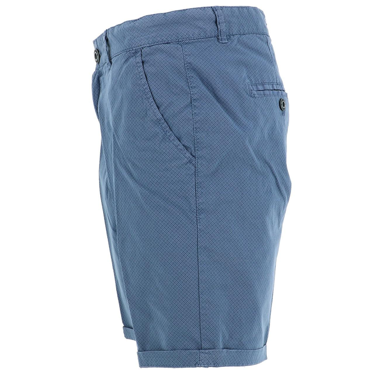 Bermuda-Shorts-Treeker9-Arizona-Chino-Strechy-Bl-Blue-47253-New thumbnail 2