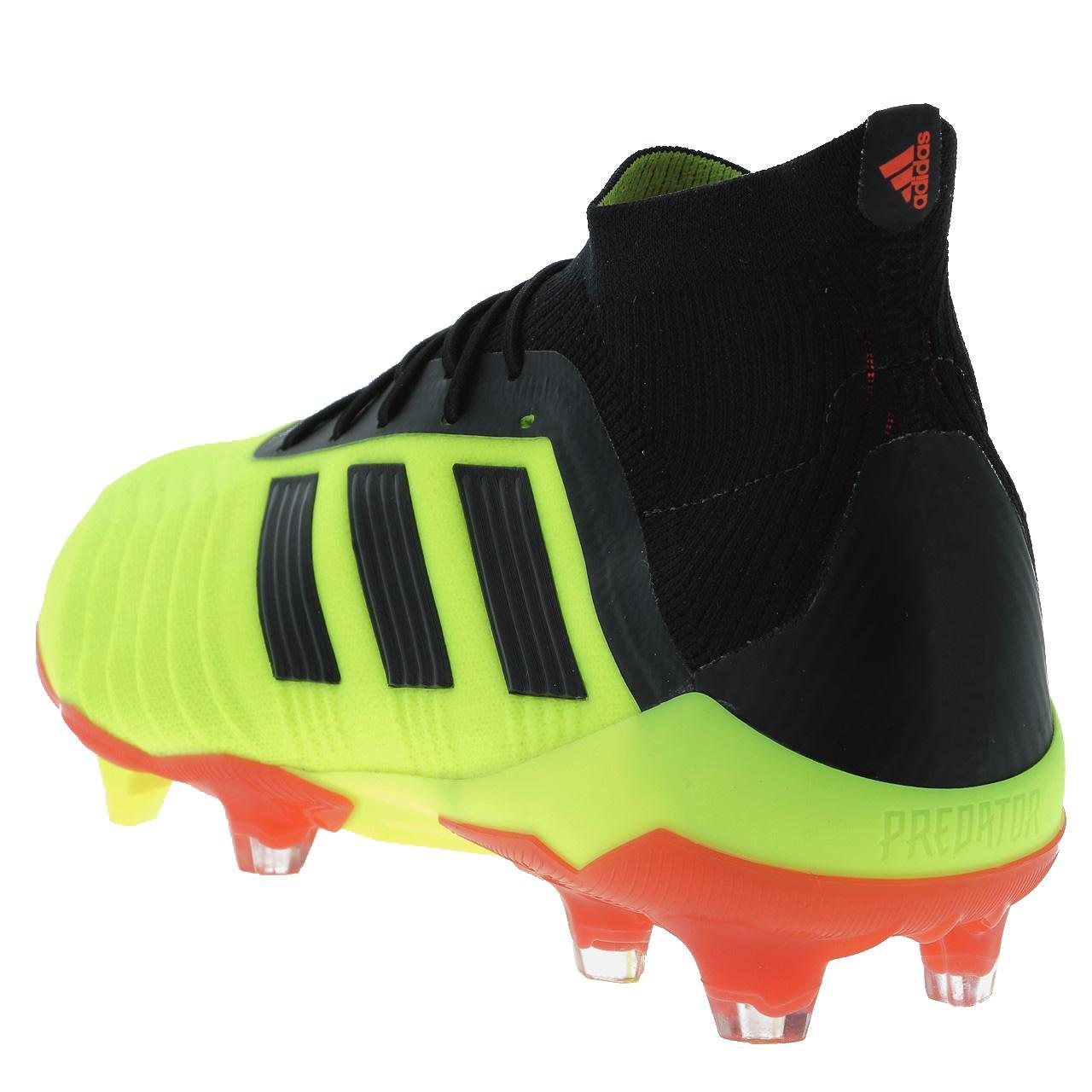 Football-Shoes-Flap-Adidas-Predator-18-1-Fg-Syello-Yellow-47849-New thumbnail 2