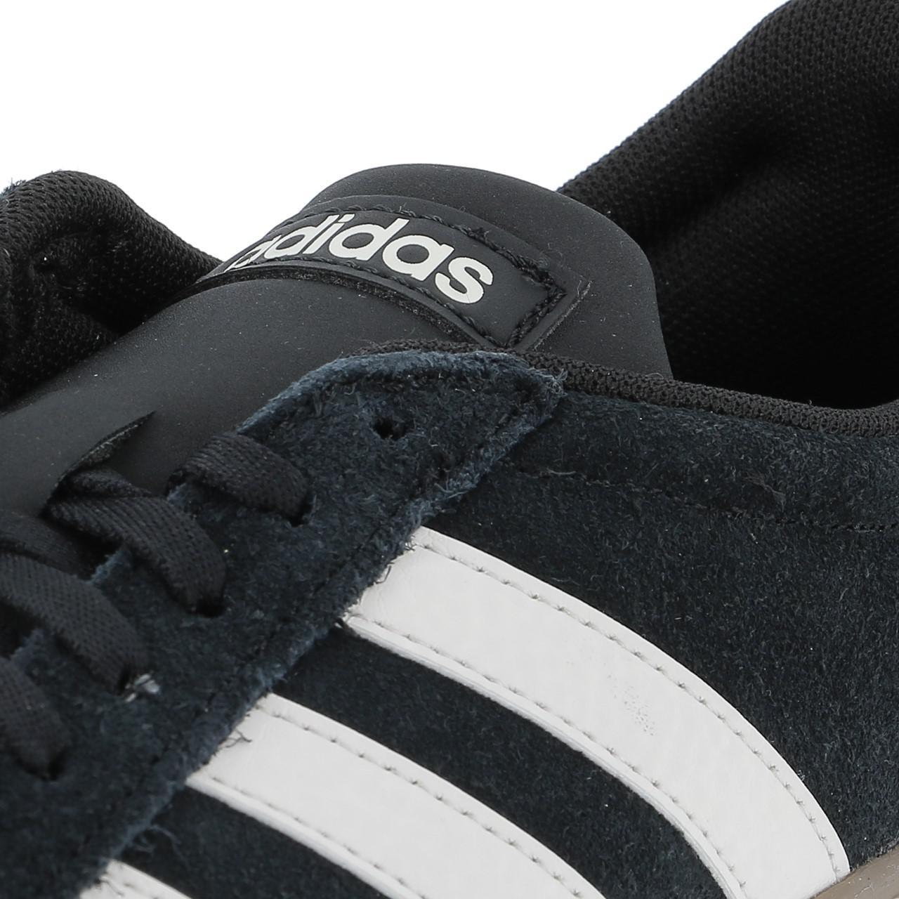 CHAUSSURES MODE VILLE Adidas Vl court 2.0 noir gomme Noir