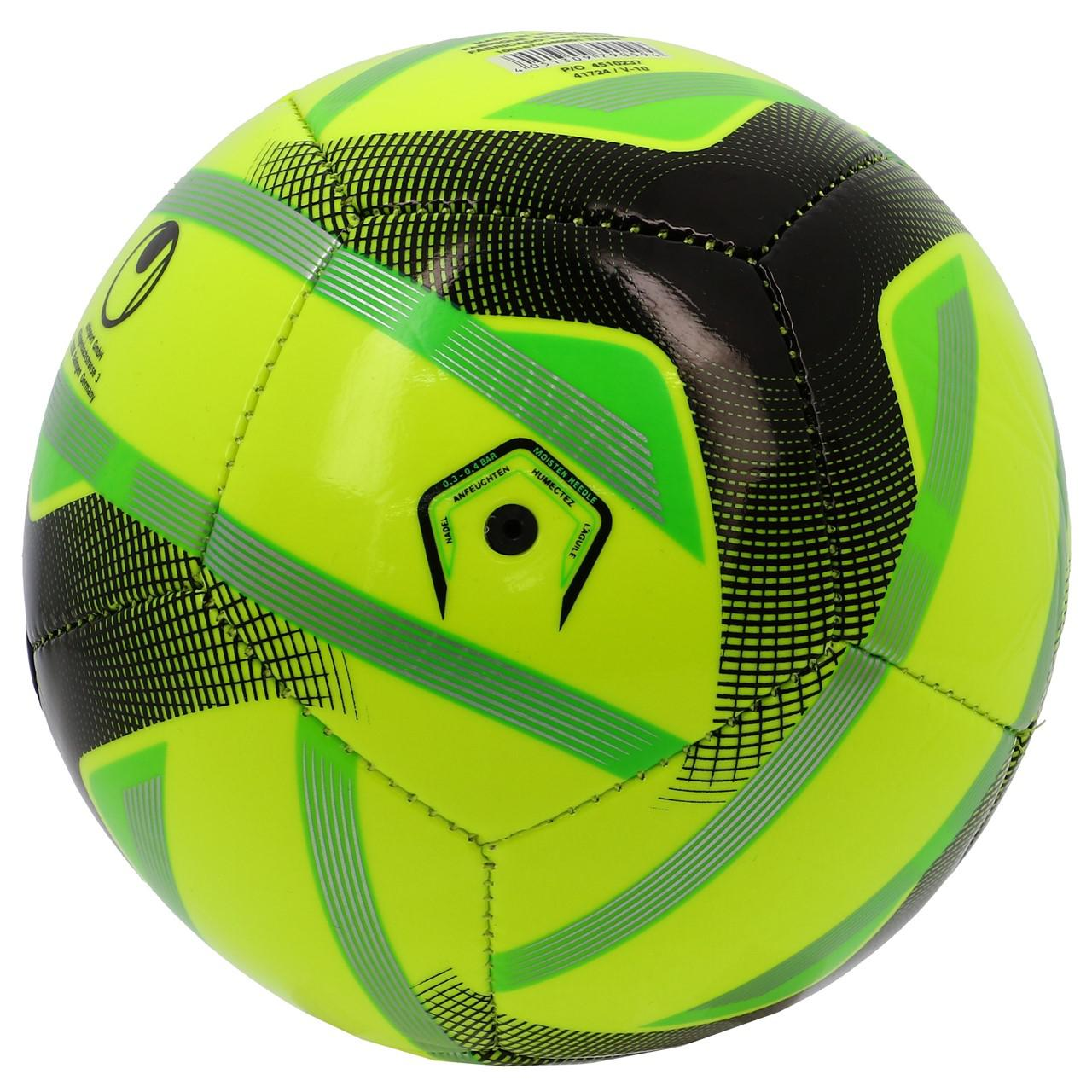 Mini-Ball-Uhlsport-Team-Mini-taille1-Yellow-50001-New thumbnail 2