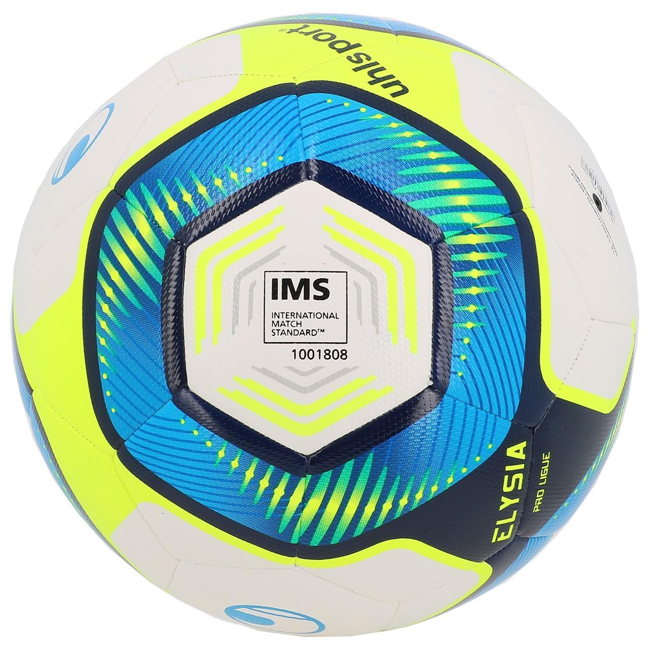 Ball-Football-Leisure-Uhlsport-League-1-Proligue-t5-White-50009-New thumbnail 2