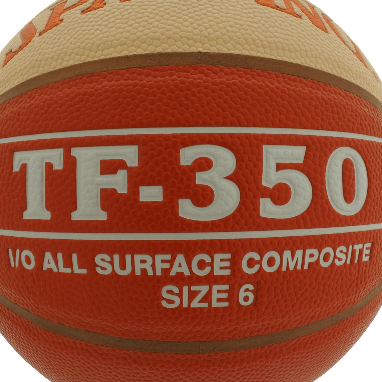 Ball-Of-Basketball-Spalding-Tf350-t6-Ball-Orange-50023-New thumbnail 2
