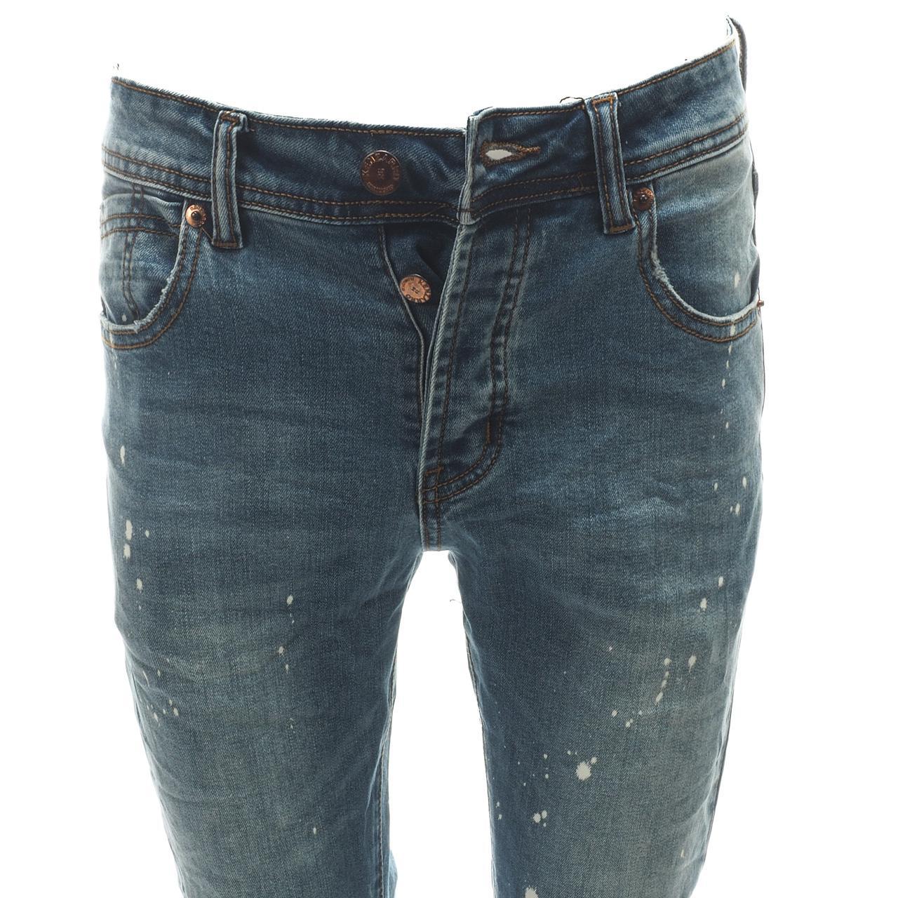 Jeans-Pants-Senders-Rikavik-Used-Blue-Blue-50030-New thumbnail 2