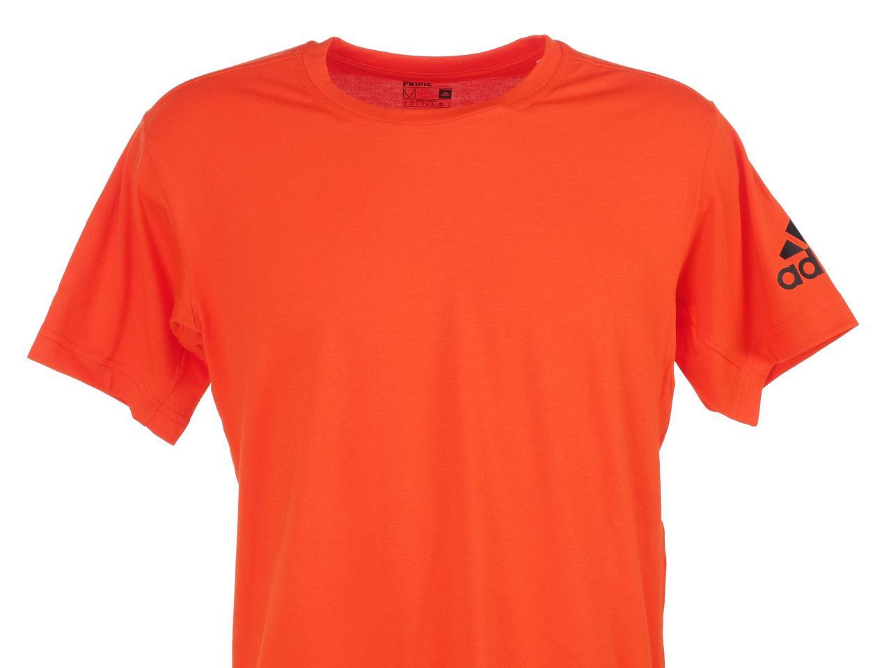 Short-Sleeve-T-Shirt-Adidas-Freelift-Premium-Rge-Mc-Tee-Red-50082-New