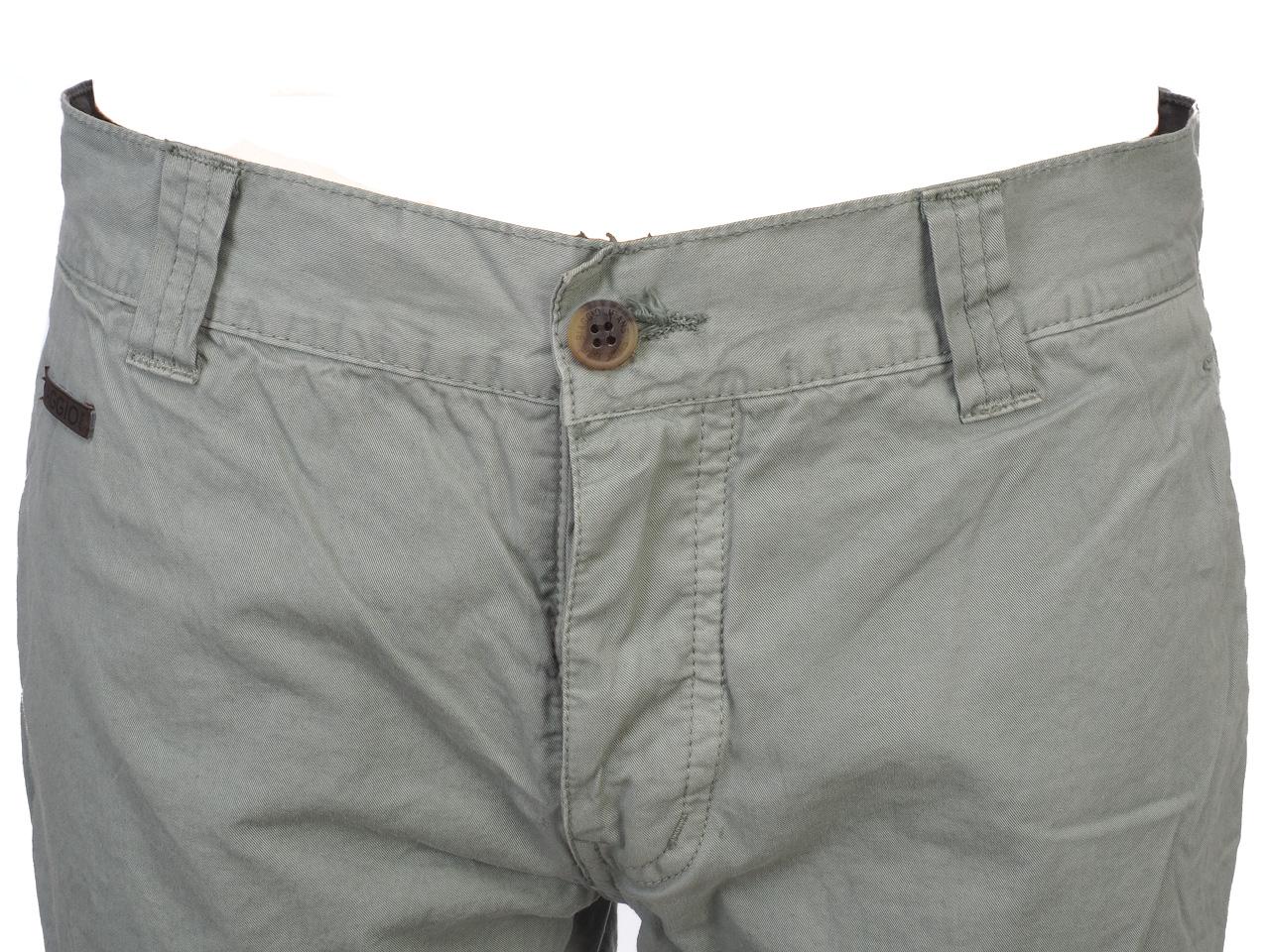 Three-Quarter-Pants-Bermuda-Biaggio-Famiros-Grey-Bermuda-Grey-50722-New thumbnail 2