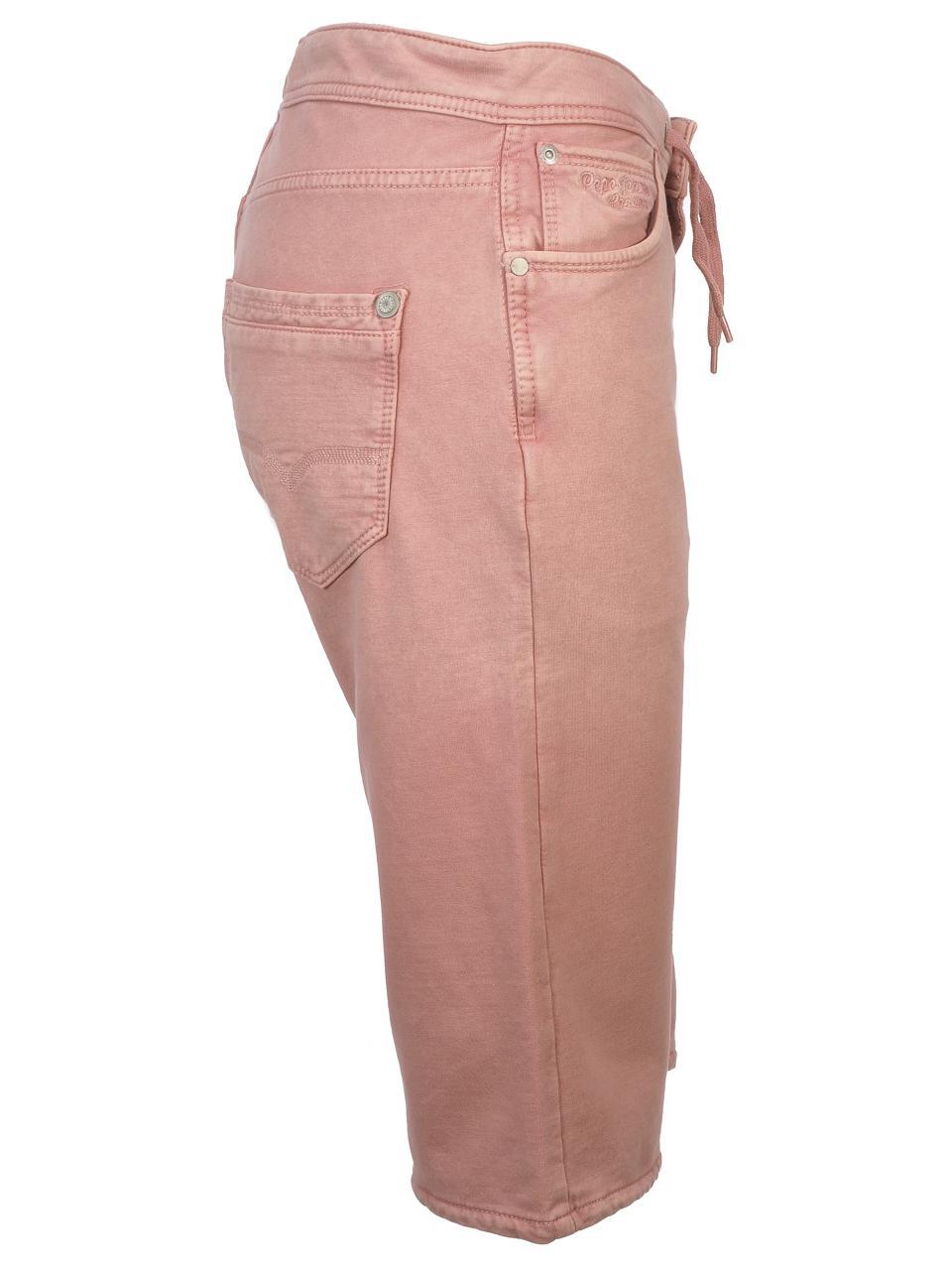 Bermuda-Shorts-Pepe-Jeans-Gene-Pink-Shorts-Jr-Pink-51544-New