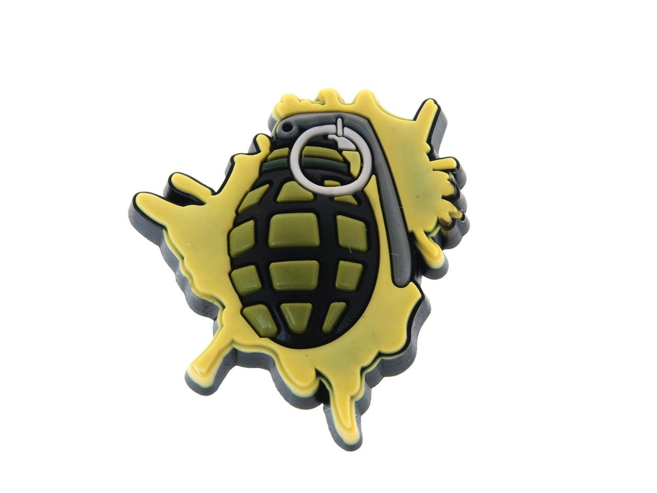 Accessoire-chaussures-Crocs-Jibbitz-pack-3-militaire-Assorties-53533-Neuf