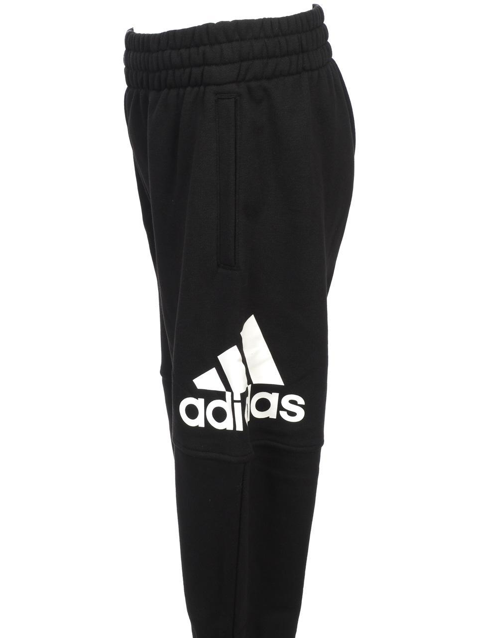 Pantalon-de-survetement-Adidas-Yb-logo-black-pantsurvet-Noir-53581-Neuf