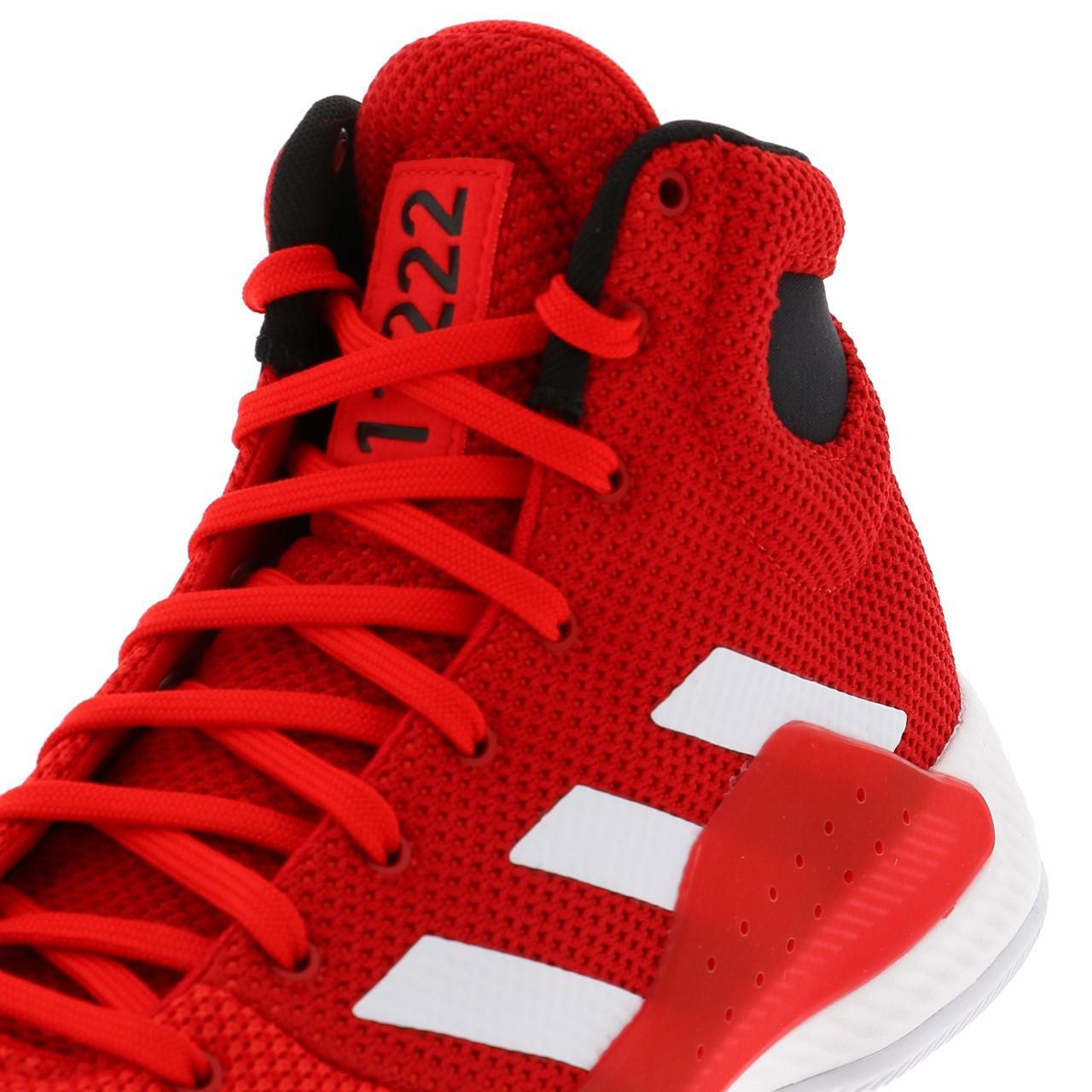 Chaussures-basket-Adidas-Pro-bounce-madness-basket-Rouge-55000-Neuf miniature 2