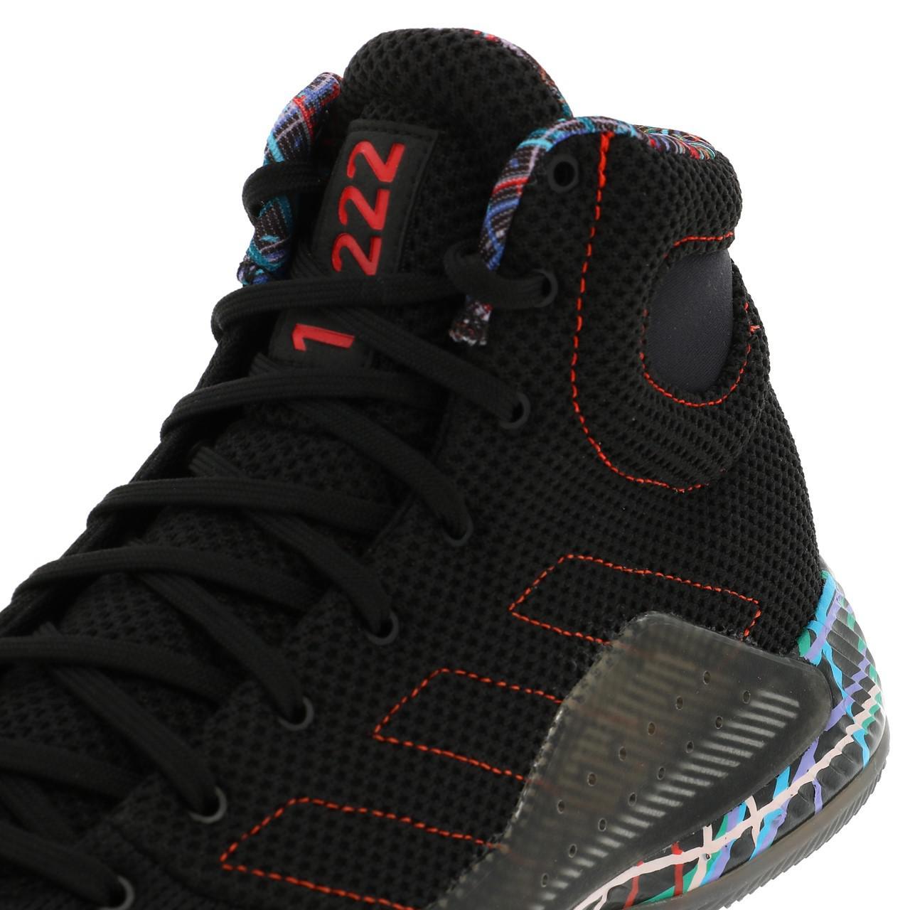 Chaussures-basket-Adidas-Pro-bounce-madness-basket-Noir-55022-Neuf miniature 2