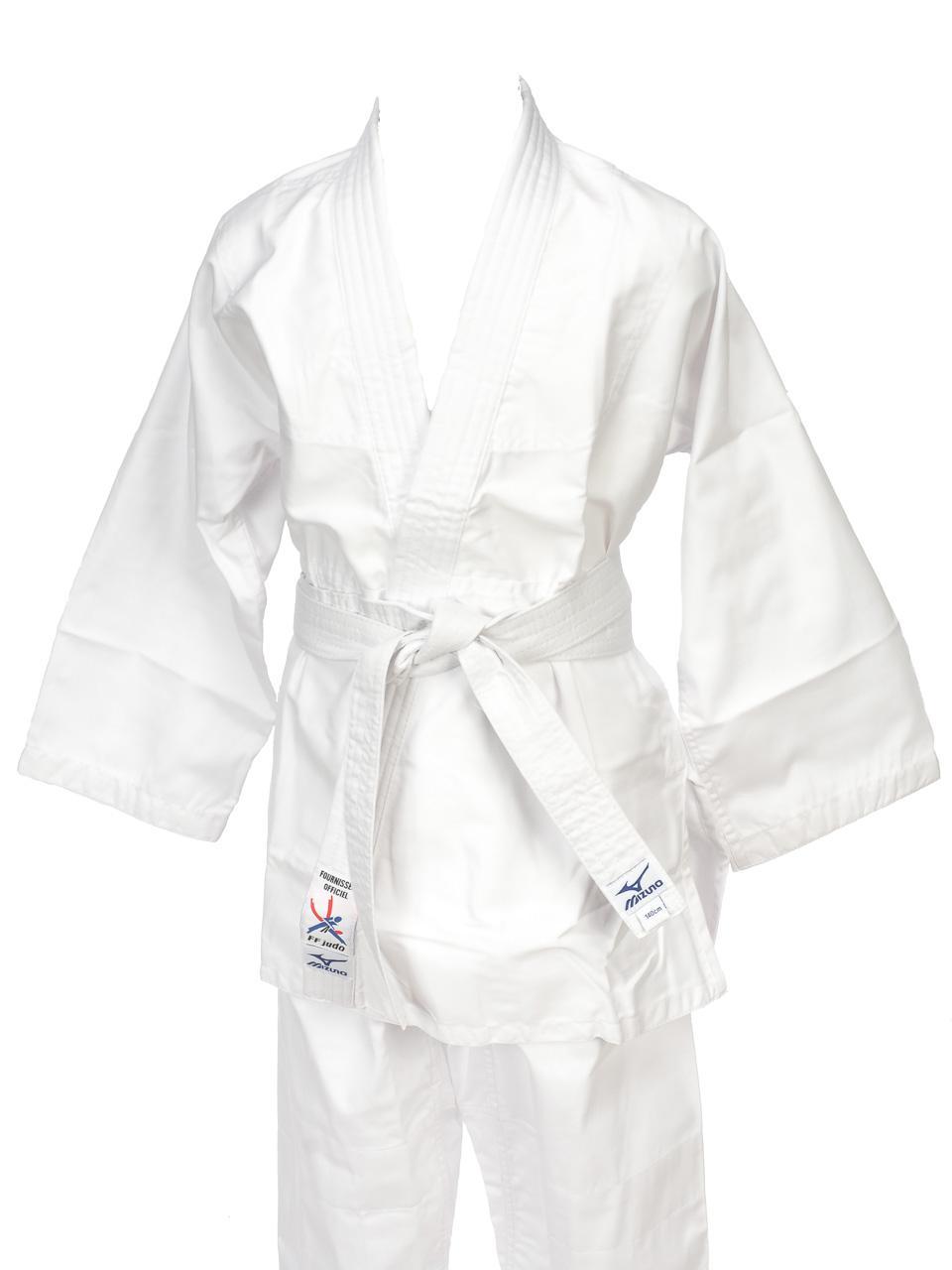 Judo-Kimono-Mizuno-Shiro-2-White-Kimono-White-57773-New thumbnail 2