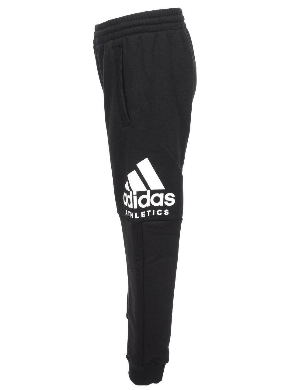Pantalon-de-survetement-Adidas-Yb-sid-pant-black-whit-jr-Noir-58226-Neuf