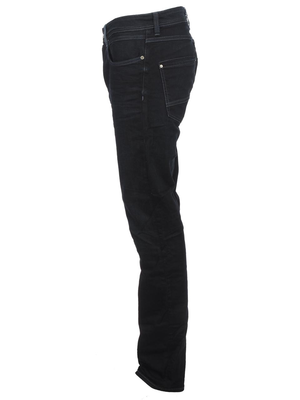 Trousers-Slim-Jeans-Teddy-smith-Rope-Reg-Comf-Usedoldencr-Blue-59500-New thumbnail 2