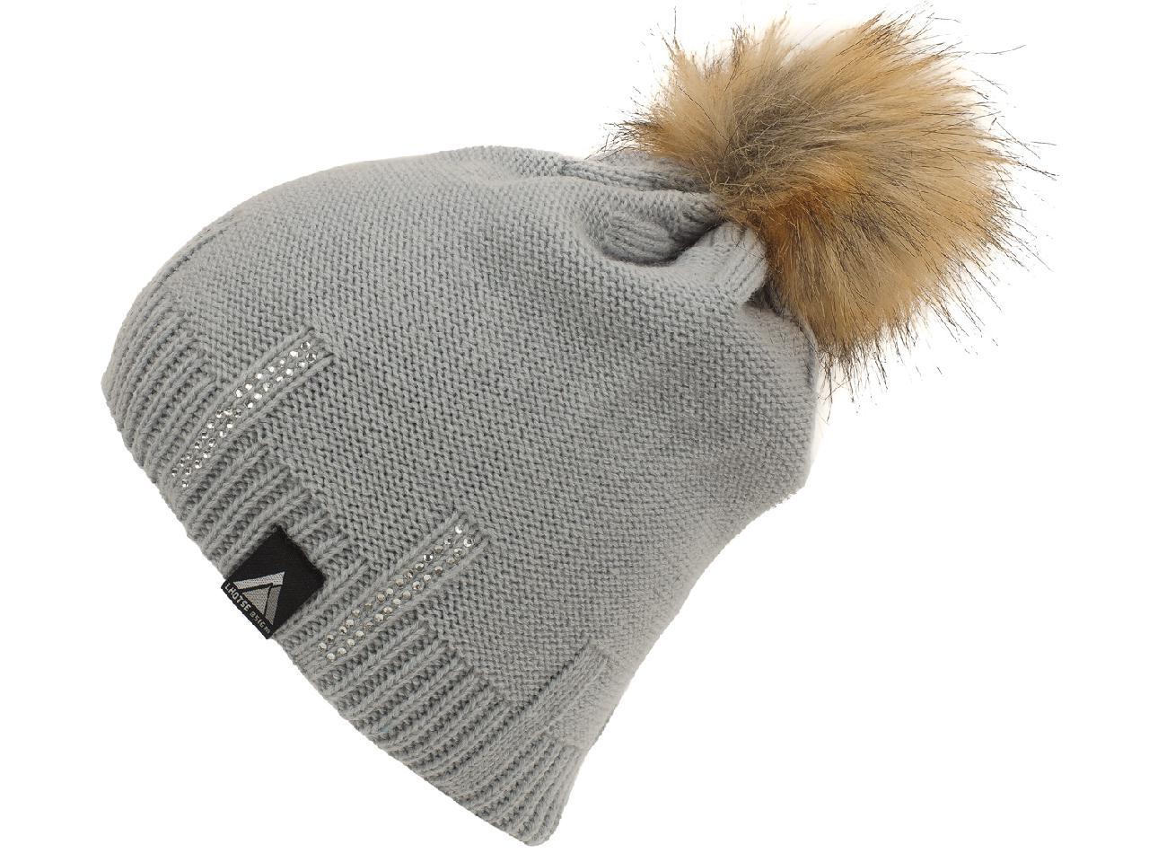 1 sur 5Seulement 2 disponibles Bonnet à pompon Lhoste Magou gris bonnet Gris  59881 - Neuf 1680adc7652