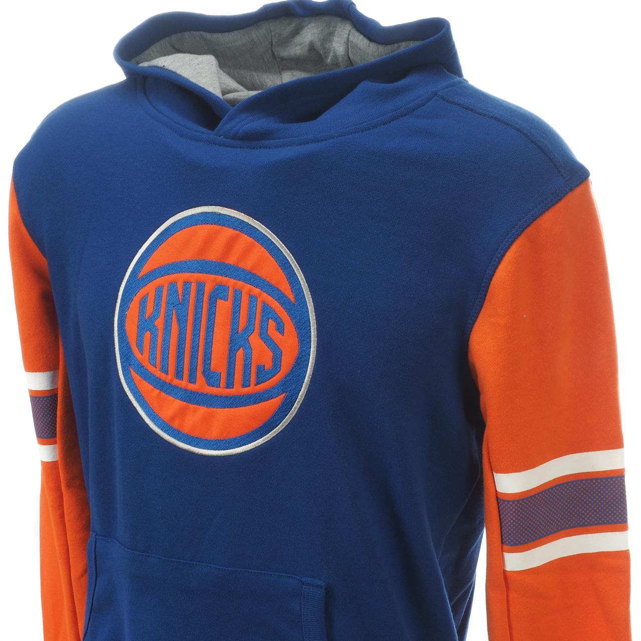 Sweatshirt-Kapuze-Kapuzenpulli-Outstuff-Knicks-Ny-Umhang-Okc-Blau-60529-Neu Indexbild 2
