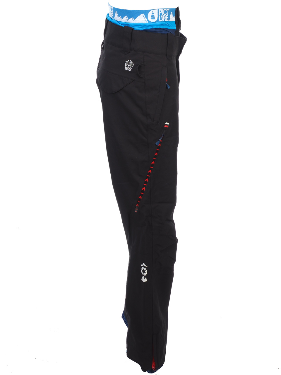 Pantalon-de-ski-surf-Picture-Base-blk-pant-fit-ski-Noir-67948-Neuf miniature 2