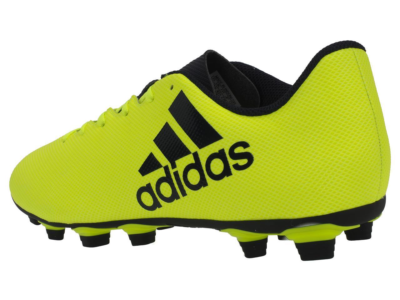 Chaussures-football-moulees-Adidas-X-17-4-fxg-Jaune-74837-Neuf
