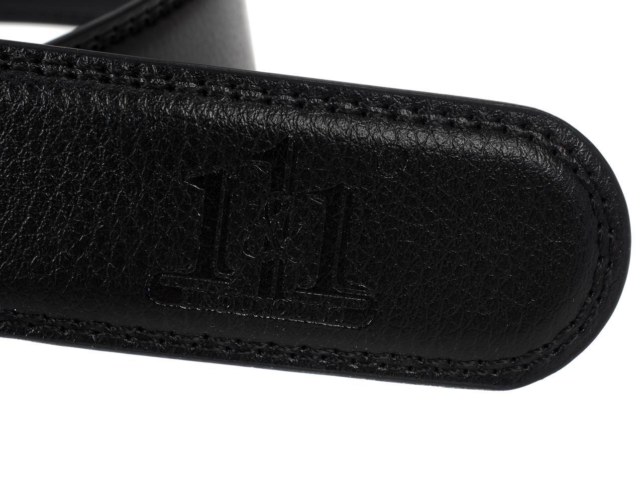 Ceinture-One-by-one-Costard-noir-cuir-Noir-76209-Neuf