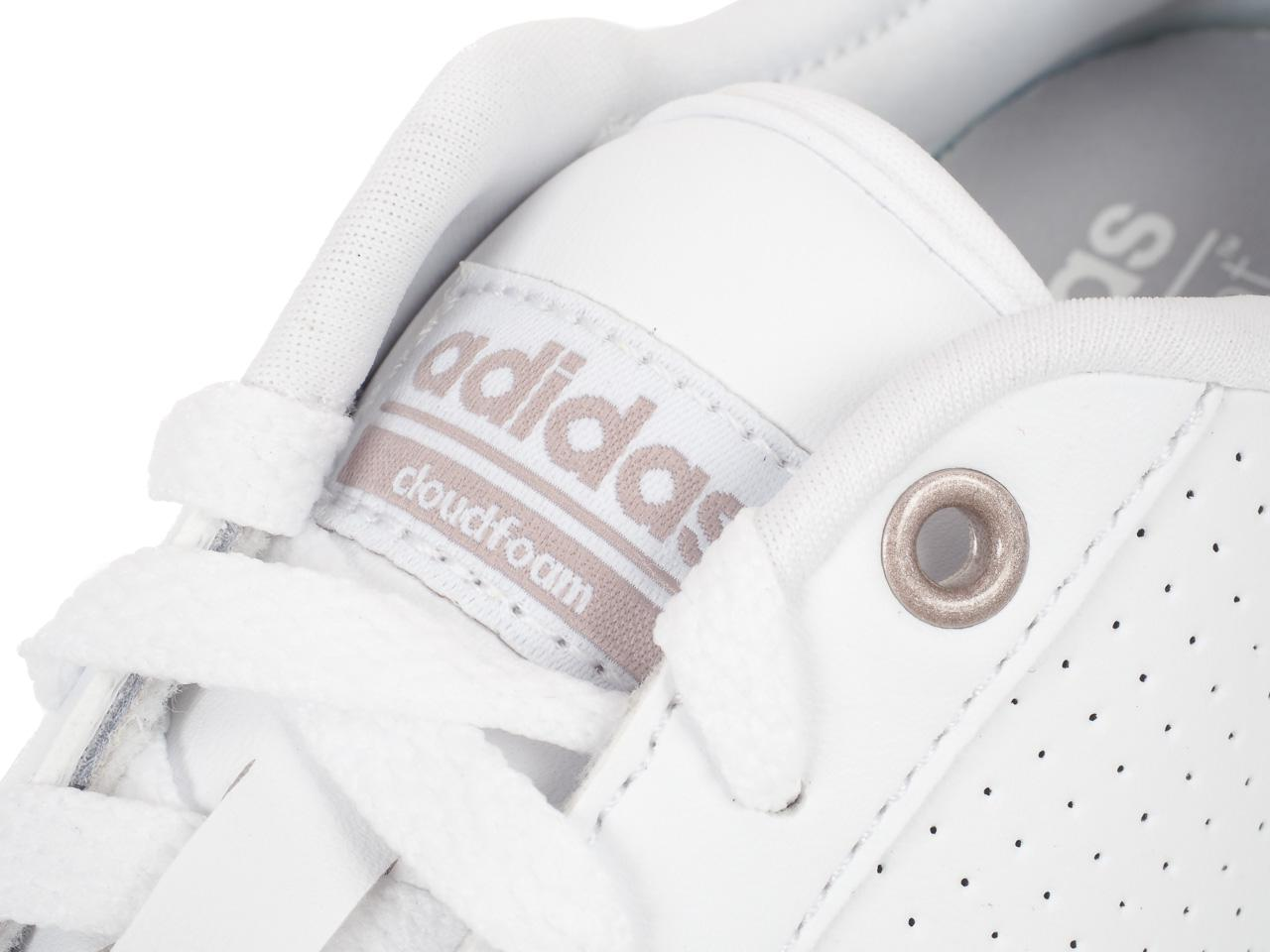 Chaussures-mode-ville-Adidas-Cf-daily-qt-cl-w-Blanc-76446-Neuf